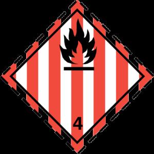 simbolo-adr-classe4.1-materie-soggette-ad-accensione-spontanea