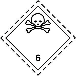 simbolo-adr-classe6.1-materie-tossiche