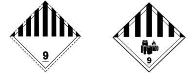 etichetta-adr-classe-9-materie-e-oggetti-pericolosi-diversi-versioni