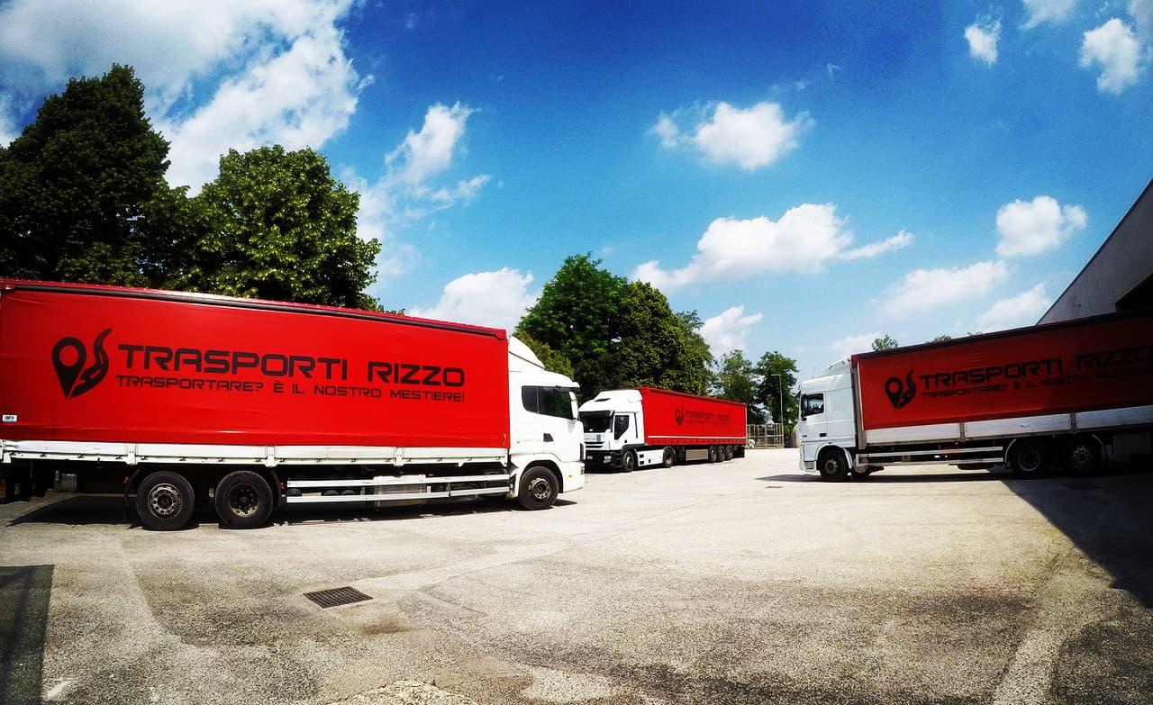 3 camion Trasporti Rizzo