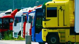 Camion usati per il trasporto merci